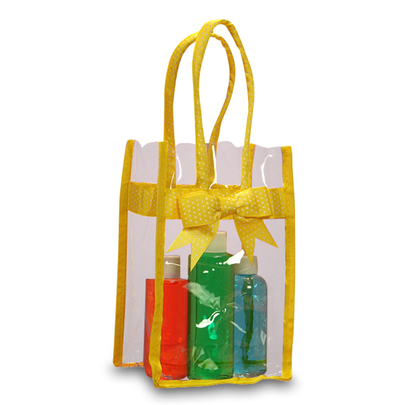 """Yellow Treat Bags Polka Dots 