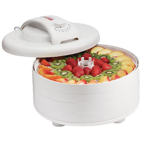 Nesco FD-60 Snackmaster Express Food Dehydrator, 4-Trays