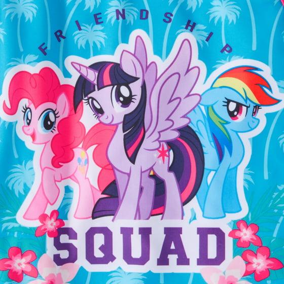 f4f2b4c013ada My Little Pony - My Little Pony LIttle Girls' 4-6X One-Piece Squad ...