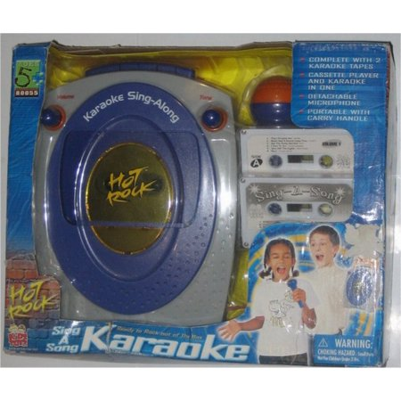 Sing A Song Karaoke Kids Toy Cassette Player Microphone Vintage Electric  Hot Rock