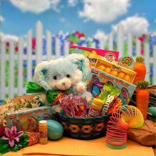 Bunny Hugs Easter Basket - Boy