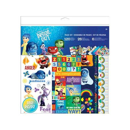 EK Disney Inside Out 12x12 Page Kit Disney Princess 12x12 Paper