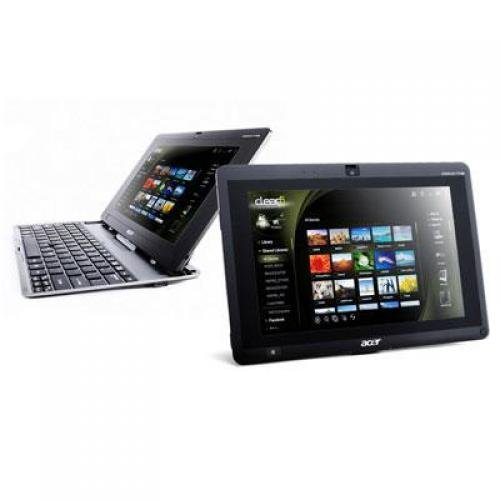 "Acer Iconia 10.1"" Tablet PC with Celeron 1005M and Windows 7 Professional (W500P) with Windows 8 Pro Upgrade Option"