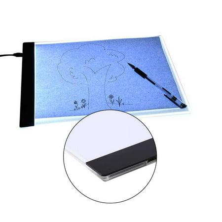 Yosoo A2 A3 A4 LED Slim Art Craft Drawing Tracing Tattoo Light Box Pad Board Lightbox ()