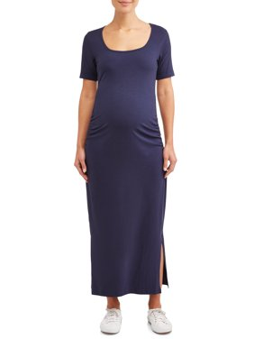 7f3ca9047a2 Product Image Maternity Short Sleeved Maxi Dress - Available in Plus Sizes