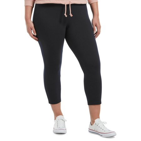 Cotton Blend Capri Leggings
