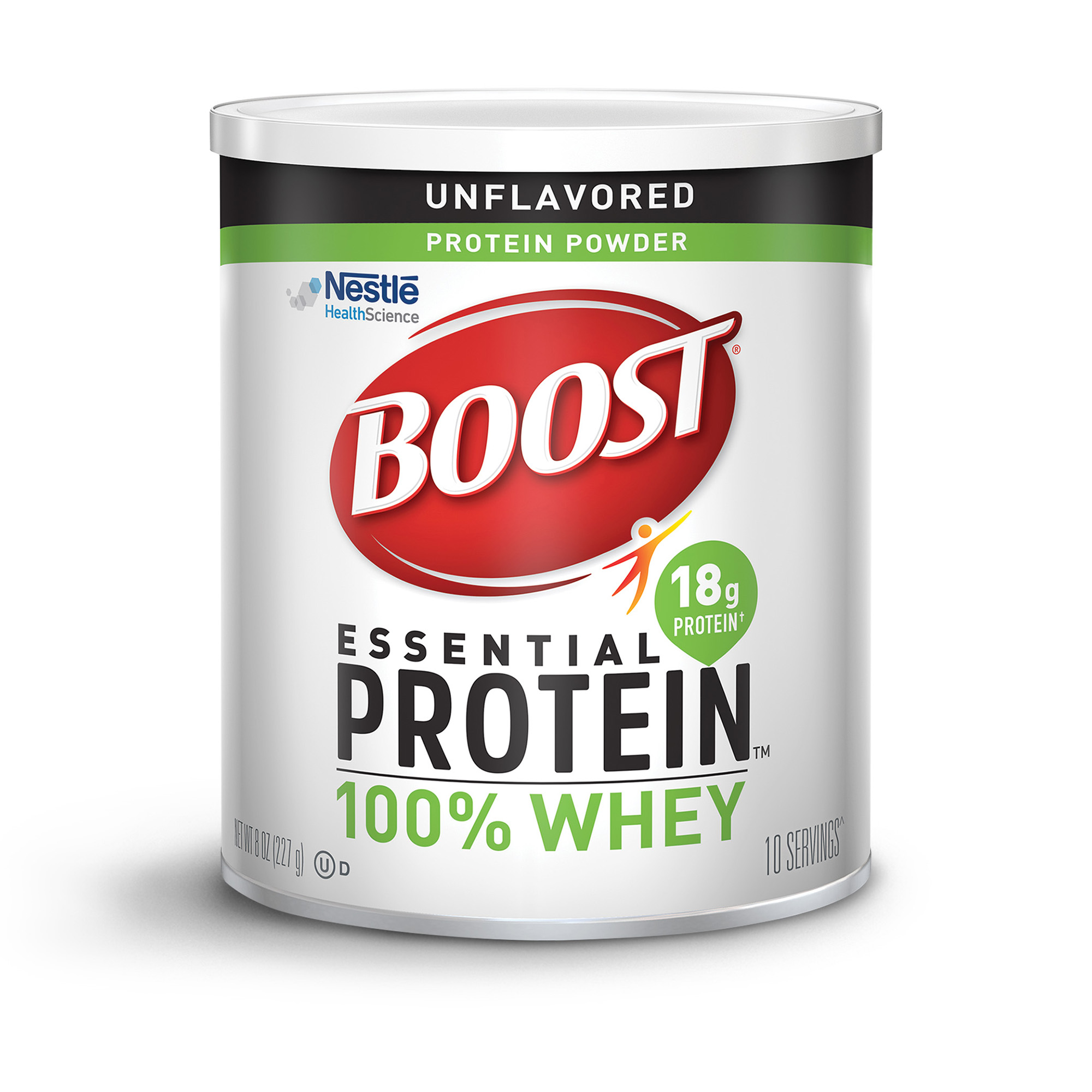 Boost Essential Protein Powder Unflavored, 8 oz Canister
