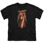 The Flash Flash Ave Big Boys Youth Shirt Black