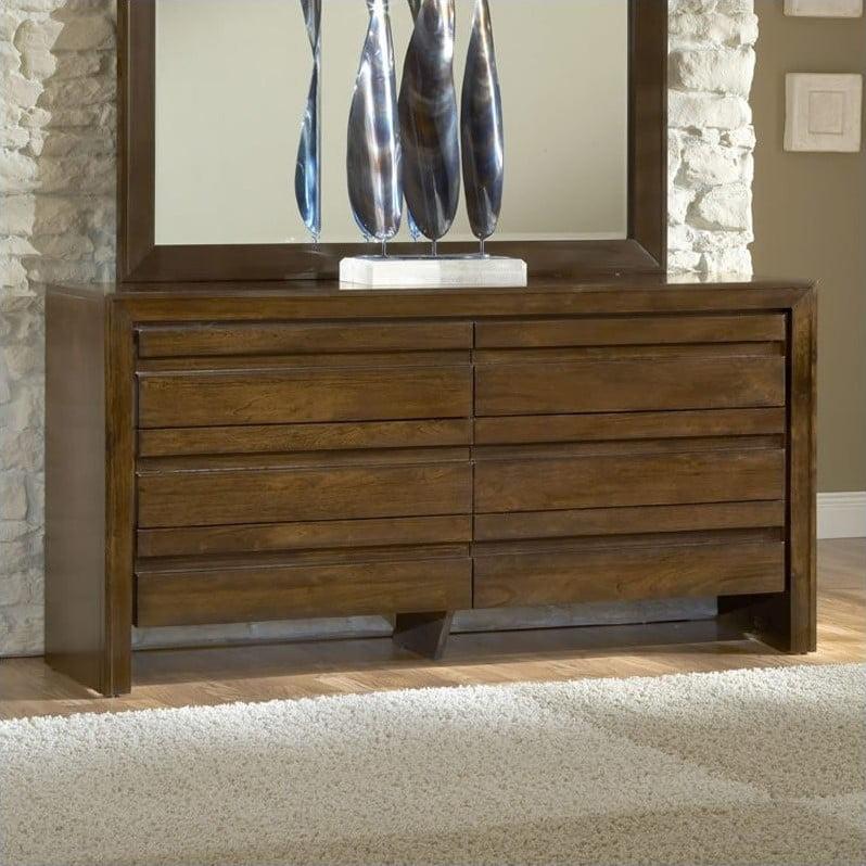 Modus Element Dresser in Chocolate Brown by Modus Furniture International