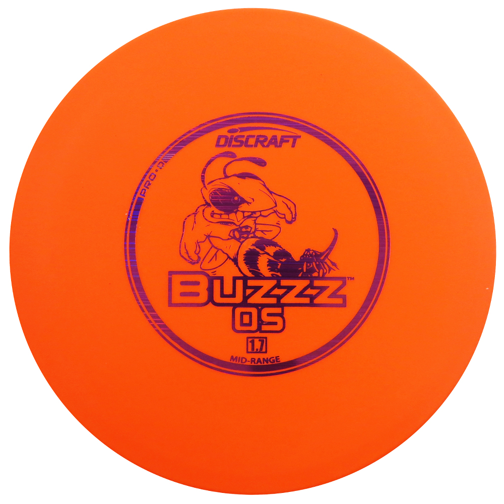 Discraft Pro D Buzzz OS 167-169g Midrange Golf Disc [Colors may vary] - 167-169g