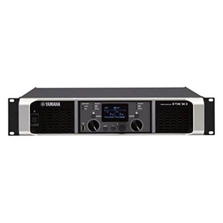 yamaha px10 dual channel 2x1200w lightweight power amplifier w/ dsp Yamaha Car Amplifiers