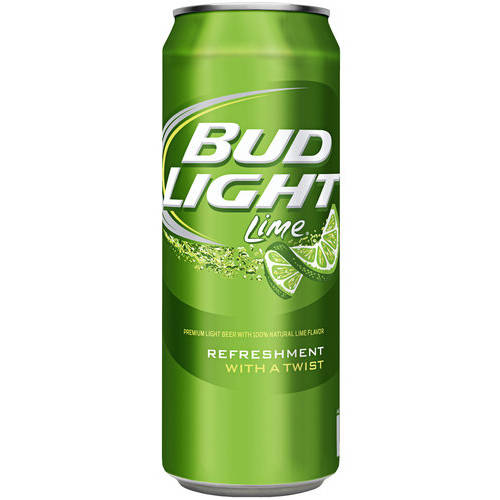 Bud Light Lime Beer, 24 fl oz