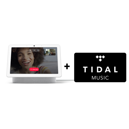Google Nest Hub Max + TIDAL Premium 4-Month FREE Trial