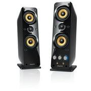 Creative GigaWorks II Series T40 2.0 Speaker System 32W RMS Glossy Black