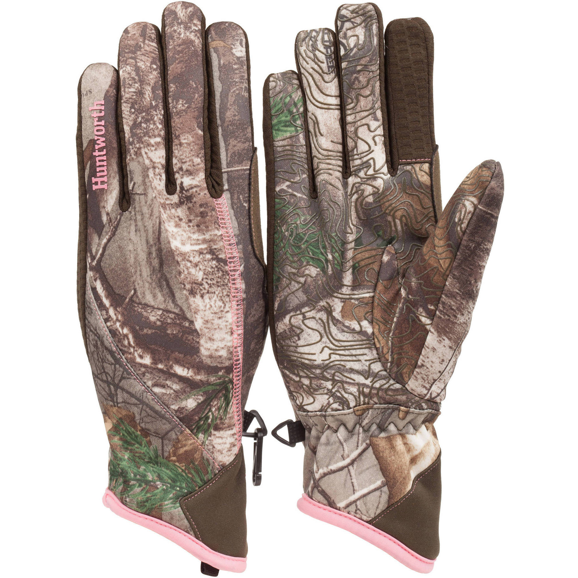 Huntworth Omega Ladies' Performance Fleece Hunting Gloves, Small/Medium