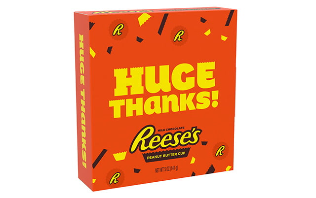 REESE'S Appreciation Peanut Butter Cup, 5 Ounces (Messaging May Vary)
