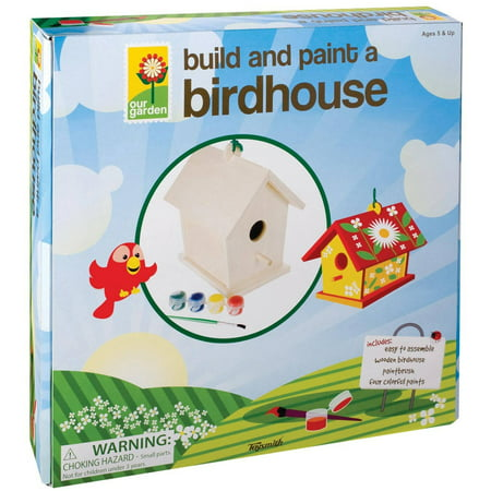 Toysmith Build And Paint Birdhouse