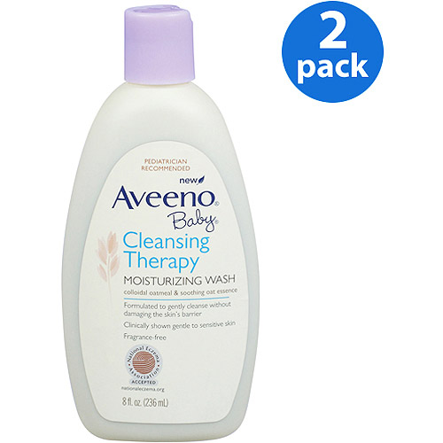 Aveeno Baby - Cleansing Therapy Moisturizing Wash, 8 oz., 2-pack