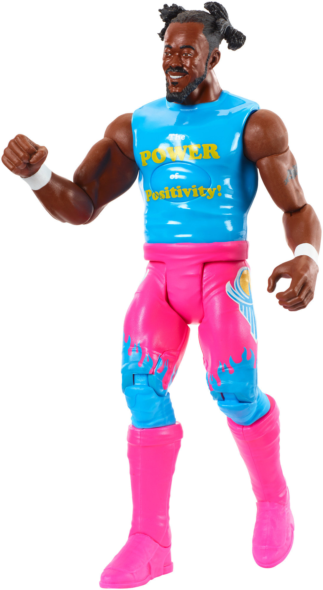 WWE Tough Talkers Kofi Kingston Figure by Mattel
