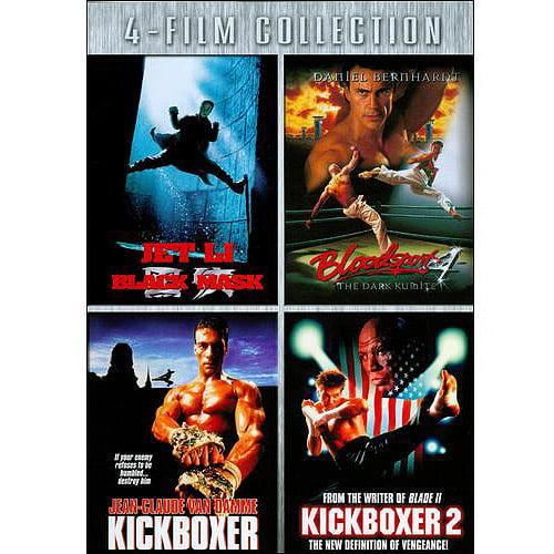 Black Mask   Bloodsport 4   Kickboxer   Kickboxer 2 by Trimark Home Video