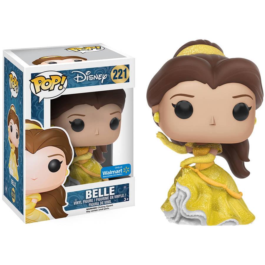 Funko POP! Disney Beauty and the Beast Sparkle Dress Belle Vinyl Figure, Walmart Exclusive