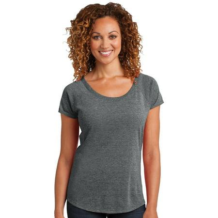 District Made Women's Textured Scoop Neck T-Shirt](District 12 Training Shirt)