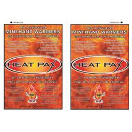 HEAT PAX AIR ACTIVATED MINI/HAND WARMERS, 40 UNIT DISPLAY BOX