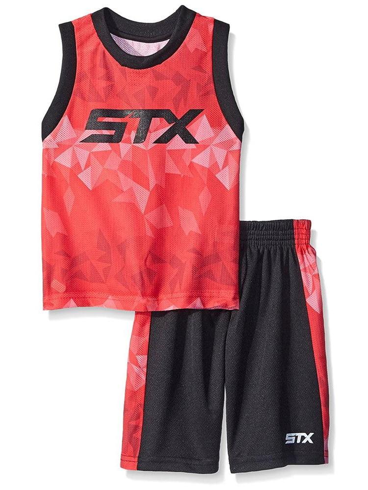 STX Little Boys 4-7 Athletic Tank Short Set
