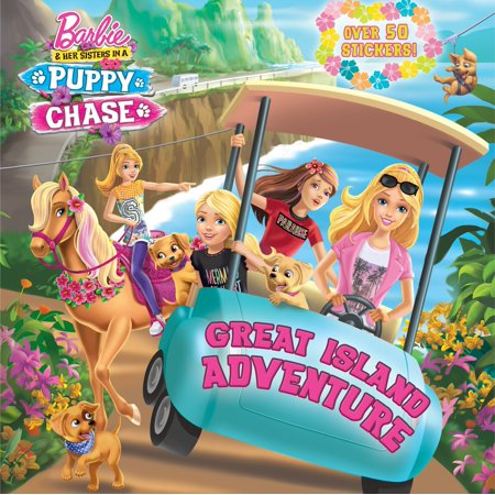 Great Island Adventure (Barbie & Her Sisters In A Puppy Chase) - The Great Halloween Puppy Adventure