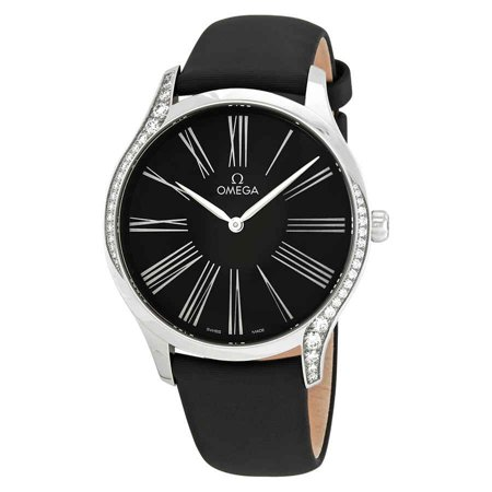 Omega De Ville Black Dial Ladies Watch 428.17.39.60.01.001