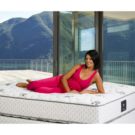 Wolf Tranquility Firm Wrapped Coil With Visco Foam Mattress