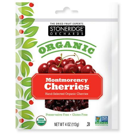 Stoneridge Orchards  Organic Montmorency Cherries  4 Oz  Pack Of 2
