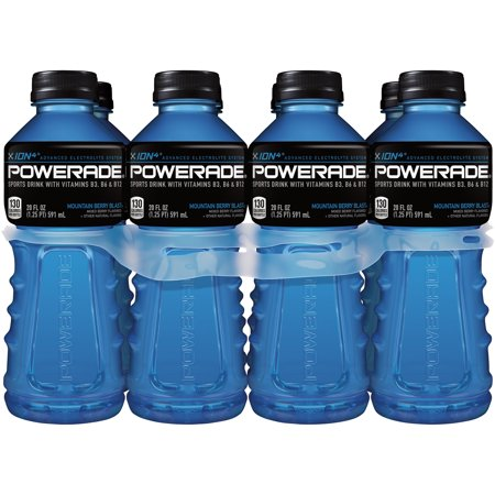 Powerade Ion4 Sports Drink  Mountain Blast  20 Fl Oz  8 Count