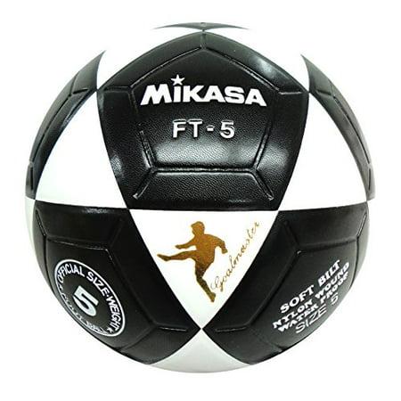 f2b8f1bbf FT-5 Goal Master Pro Soccer Ball Size 5 Official Football Original NEW ( Black/White), Size 5 - Official Goal Master Model By mikasa - Walmart.com