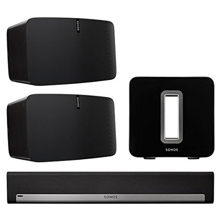 Sonos 5.1 Home Theater Set with PLAY:5 (Pair), PLAYBAR, and SUB