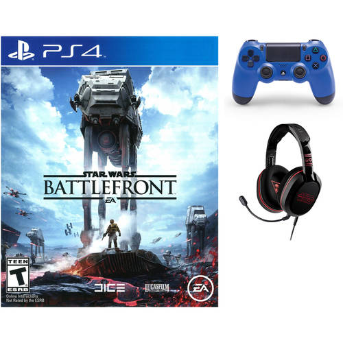 PS4 Value Bundle with Star Wars Battlefront, Headset, and Controller