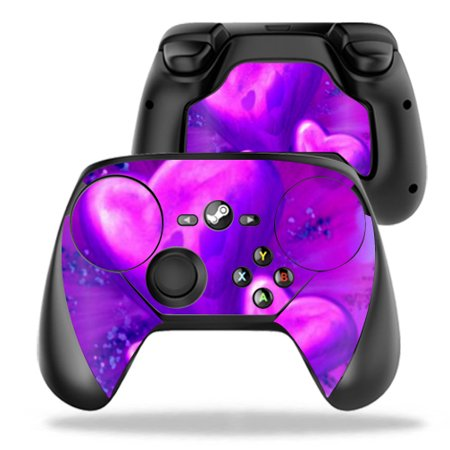 Skin Decal Wrap For Valve Steam Controller Purple Heart