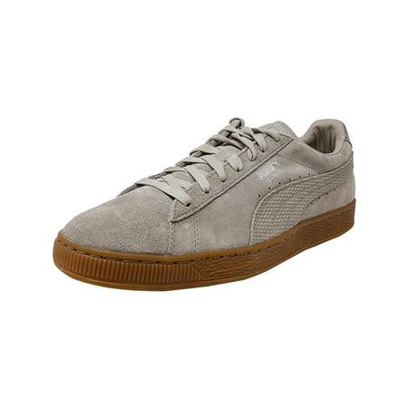 Puma - Puma Men's Classic Citi Suede Vintage Khaki Ankle-High Fashion Sneaker - 9M - Walmart.com
