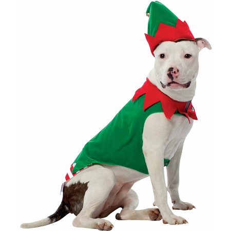 Doc Holiday Costumes (Elf Holiday Pet Costume (Multiple Sizes)
