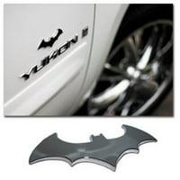Batman 3-D Premium Auto Emblem with Chrome Metal Finish