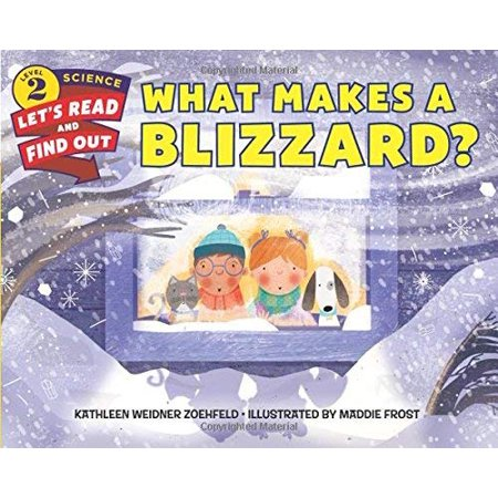 What Makes a Blizzard? (Let's-Read-and-Find-Out Science 2) - image 1 de 1