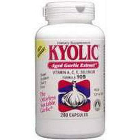 Formule Antioxydant - Formule Kyolic 105 Kyolic 200 Caps