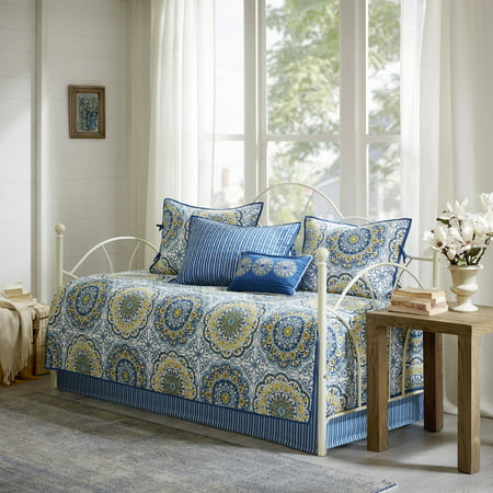 Home Essence Menara 6 Piece Reversible Printed Daybed Cover Set