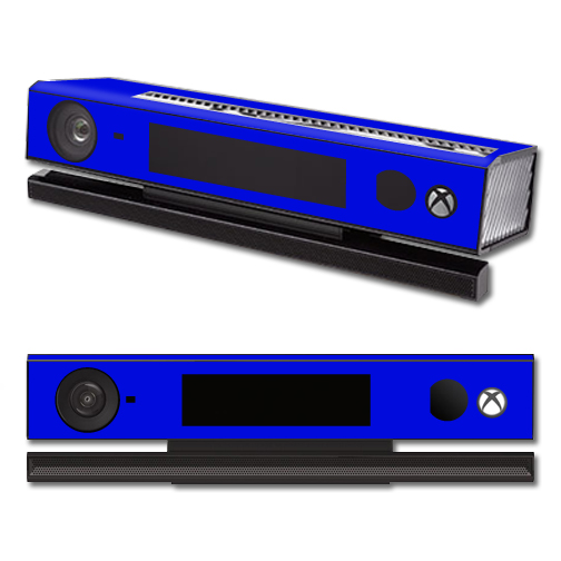 Mightyskins Protective Vinyl Skin Decal Cover for Microsoft Xbox One Kinect wrap sticker skins Solid Blue