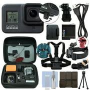 GoPro HERO8 Black 12 MP Waterproof 4K Hero 8 Camera Camcorder + Ultimate Action Bundle