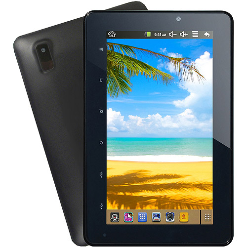 "Supersonic MID with WiFi 7"" Touchscreen Tablet PC featuring Android 4.1 (Jelly Bean) Operating System"