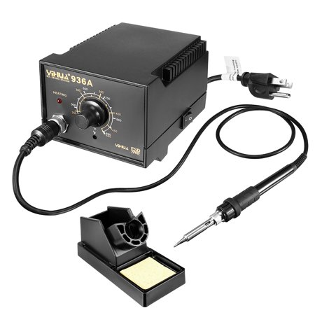 936A 60W Soldering Station Kit Auto Cool Down Ergonomic Soldering Iron