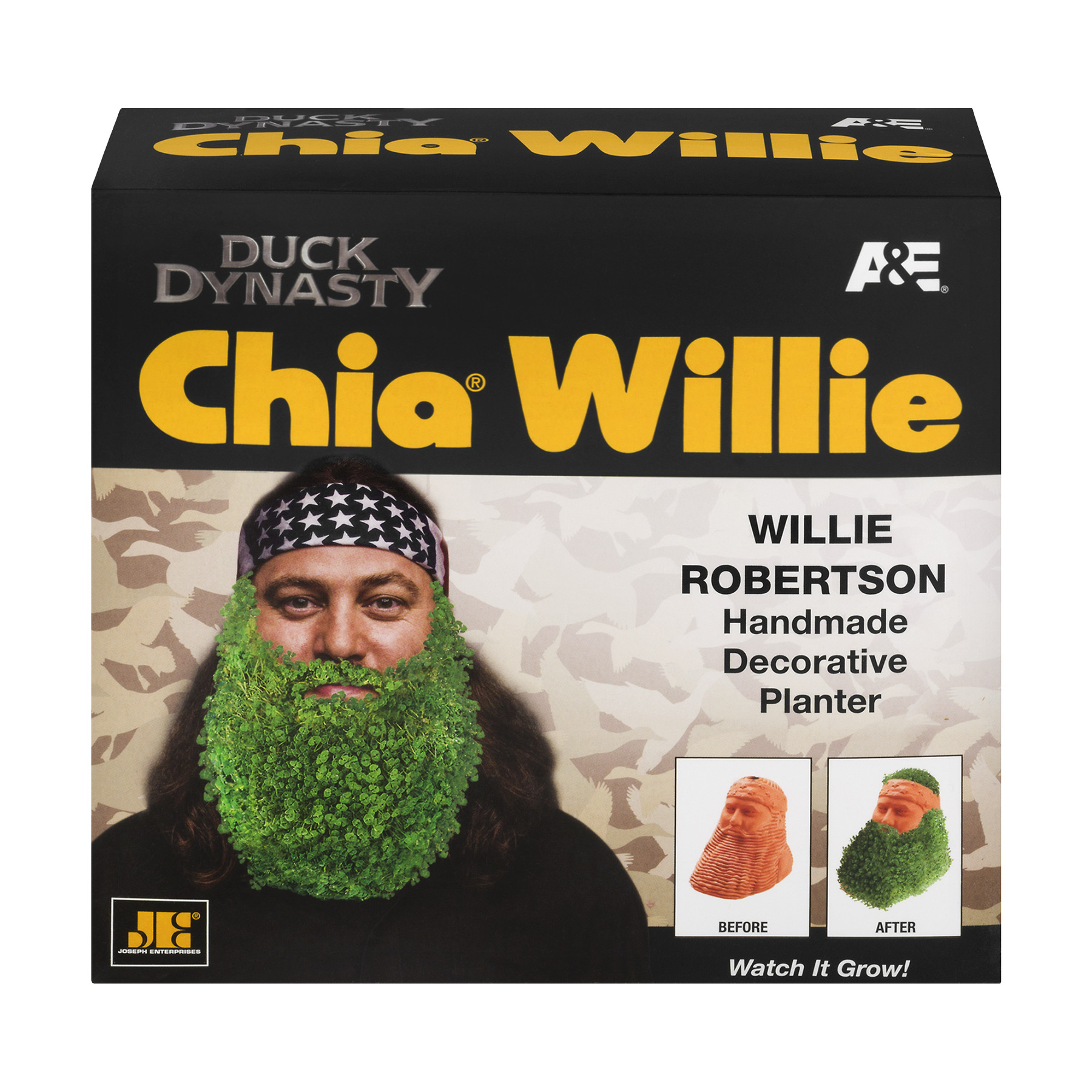 Chia Pet Duck Dynasty Willie, 1.0 CT