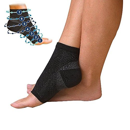 Plixio Plantar Fasciitis Compression Sock for Heel, Arch ...