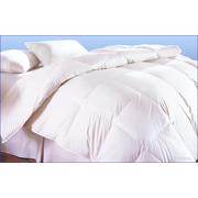 Creative Living Solutions White Goose Feather and Down Bed Comforter 100% Cotton Case All Season Queen Size